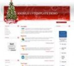 Christmas Tree Joomla template