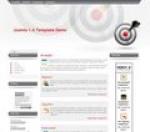Bullseye ücretsiz joomla tema