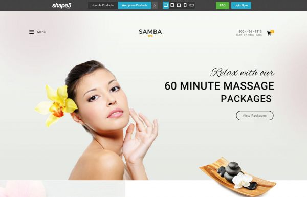 Shape5 Samba Spa